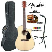 Fender El.acus Nat Cd60ce Est.rig+sop+dvd / Open-toys41