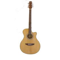Guitarra Acustica Parquer Gac110mclb Natural Cuerdas Acero