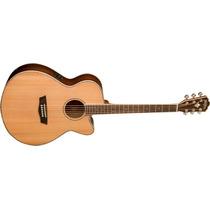 Guitarra Washburn Acustica Wg-26 Sce