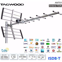 Antena Digital Externa Para Television Digital Abierta Ant01