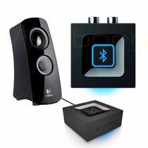 Logitech Audio Adapter Adaptador Bluetooth Parlantes Rca 3,5
