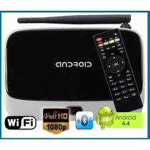 Smart Tv Box Android Quad Core+ Camara+ Control+ Hdmi 1080