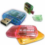 Lector Tarjeta Memoria Usb Mmc/sd/rs-mmc/t-flash 480mbps Spd