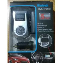 Transmisor Fm Bluetooth Micro Sd Mp3 Para Auto En Caseros