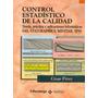 Control Estadistico De La Calidad Minitab Spss - Cesar Perez