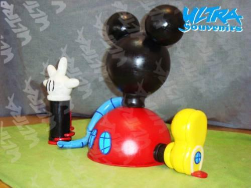 Como hacer adorno de Mickey Mouse - Imagui