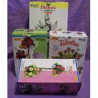 22 Pares Moldes Para Hacer Flores C/ Goma Eva - Frisadores