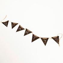Banderín Pizarra Rucula Design. Linea Pizarra Para Eventos