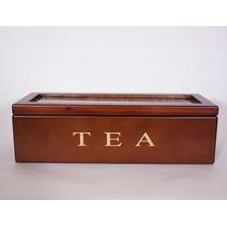 Barnett & Foster - Caja De Madera De Te Tea 29x11x9,5 Cm