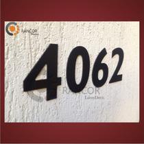 Numeros Y Letras Aluminio Negro!! Casas, Porton, Puerta.
