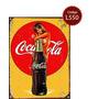 Carteles De Chapa Publicidad Coca Cola 30x40cm No Es Vinilo