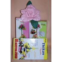 17 Pares Moldes Para Hacer Flores C/ Goma Eva - Mini Orq Ros