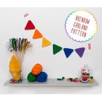 Banderines A Crochet - Tejidos Artesanales