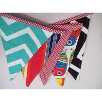 Banderines De Tela Decorativos