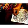 Imágenes Y Mandalas X 10 En Madera Para Pintar. Antiestrés