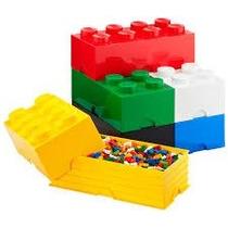 Caja Pástica Organizadora Apilable Bloque Lego