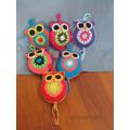 Lechuzas Y Pajaritos En Crochet