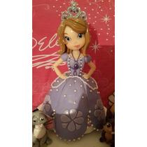 Adorno Princesa Princesita Sofia En Porcelana Fira
