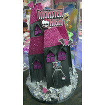 Adorno De Torta Castillo Monster High