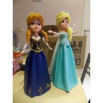Ana Y Elsa .personajes De Frozen 25 Cms De Alto Adorno