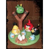 Adorno Para Torta Angry Birds