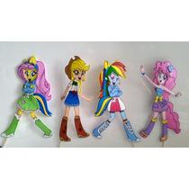 Equestria Girls Centros De Torta En Goma Eva