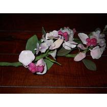 Ramo De Flores De Porcelana Fría