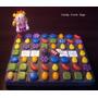 Candy Crush - Adorno De Torta En Porcelana Fría