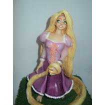 Rapunzel En Porcelana Fría