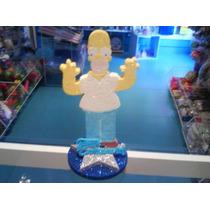 Adorno Homero Simpson Gibre Yibre Torta Cumpleaños