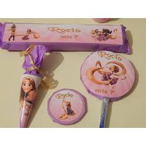 Candy Bar Rapunzel Golosinas Personalizadas 10 Chicos