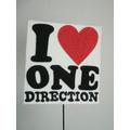 Adorno Pinche Torta - One Direction - Goma Eva 15 X 17 Cm