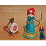 Merida 15cm + Blanco, Valiente O Brave, Disney Princesas