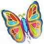 Globo Mariposa De 14 Pulgadas
