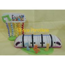 Monoriel Junior Express - Adorno Para Torta - Porcelana Fria