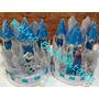 Piñata Elsa Frozen + Adorno De Torta + Simbolos De Hielo