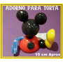 La Casa De Mickey Mouse Adorno Torta En Porcelana Fría