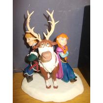 Frozen, Elsa Y Anna En Porcelana Fria Para Tu Torta