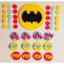 Adornos Para Tortas. Batman Pop!