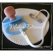 Adornos Para Torta Chupete Nacimiento Baby Shower Primer Año