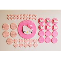Adornos Para Tortas. Hello Kitty!