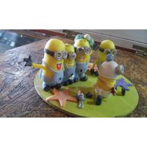 Minions Porcelana Fria Maqueta