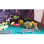 Animales Salvajes Selva Torta Souvenir Coleccion Maqueta