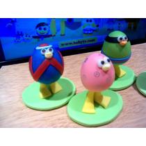 Egg Birds!!! - Baby Tv - Adorno Para Tu Torta