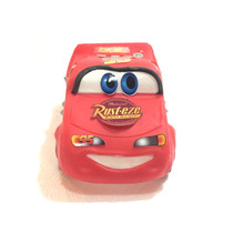 Rayo Mc Queen Cars En Porcelana Fría Adorno Para Torta