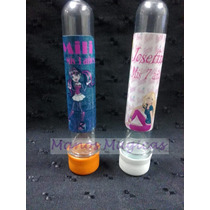 Tubos Golosineros Monster High Barbie Personalizados