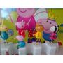 Peppa Pig Y 4 Amigos - El Adorno De Torta!!