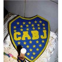 Escudos De Futbol Porcelana Fria Adorno Para Torta