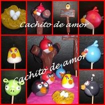 Angry Birds Adorno De Torta