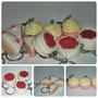 Llaveros Para Souvenir, Cupcakes Por 10 U